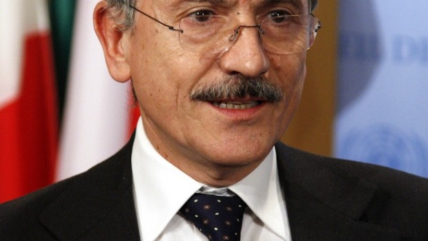 Italian Minister for Foreign Affairs Massimo D'Alema