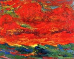 Emile-Nolde-Ciel-et-mer-1930