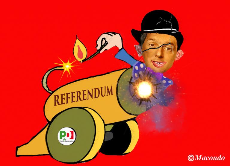 Il Renzi autentico è quello che parla inglese