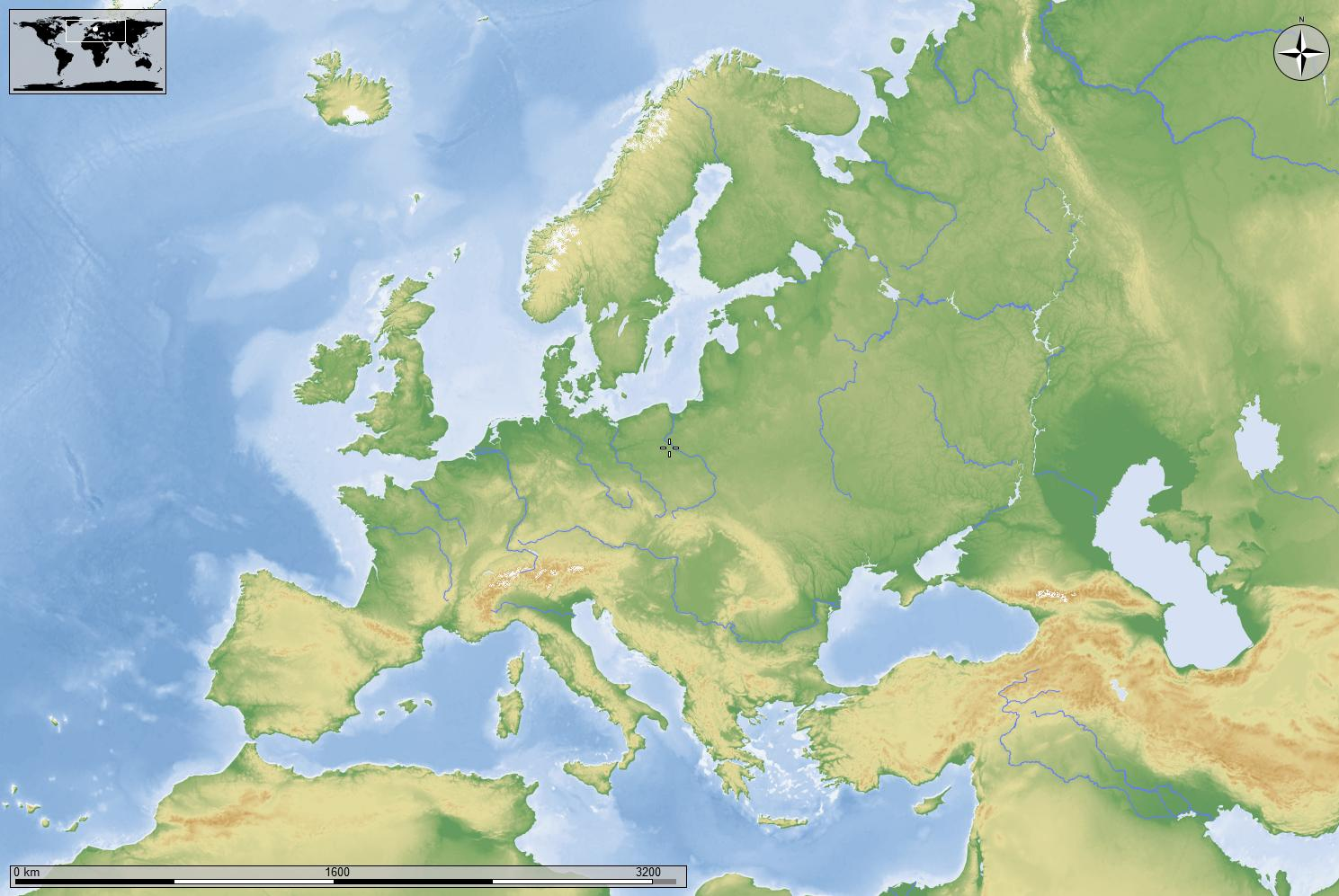 Il mondo dell 39 antica europa - Foto della mappa del mondo da stampare ...