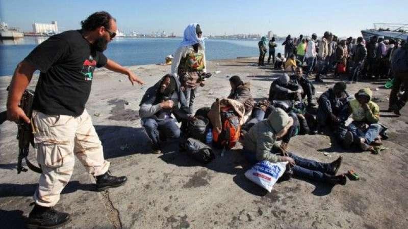 Risultati immagini per migrantilibia